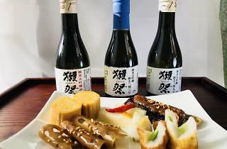 raw sake tasting tour byfood