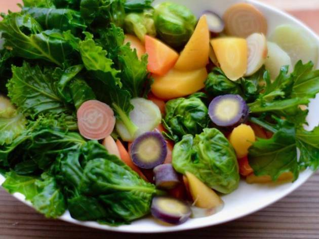 西洋野菜をたべようマルシェ