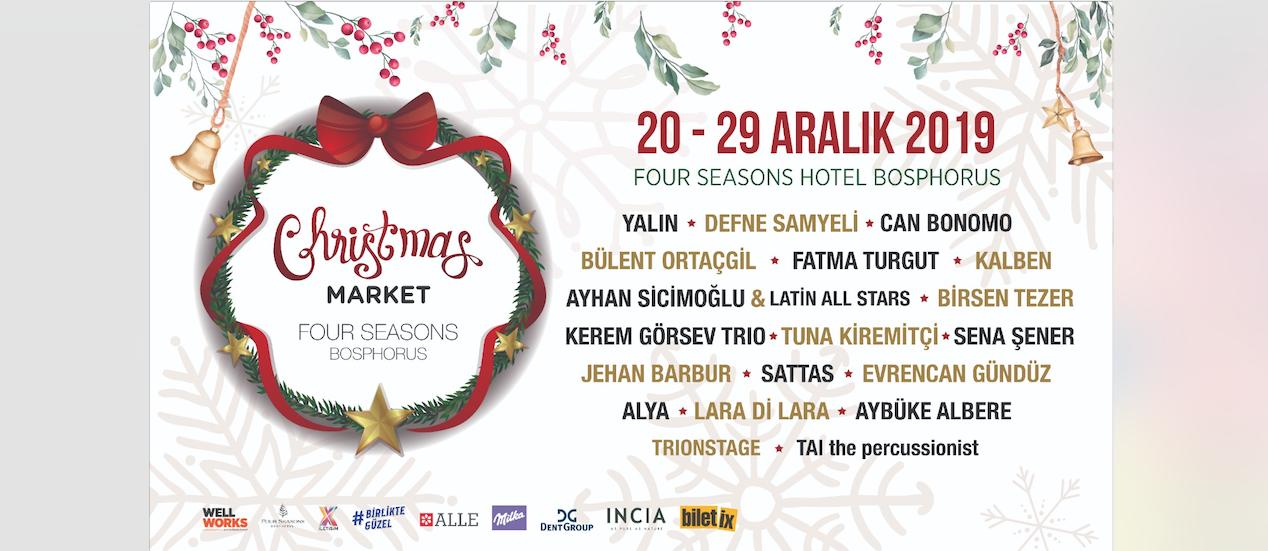 Christmas Market Four Seasons Bosphorus