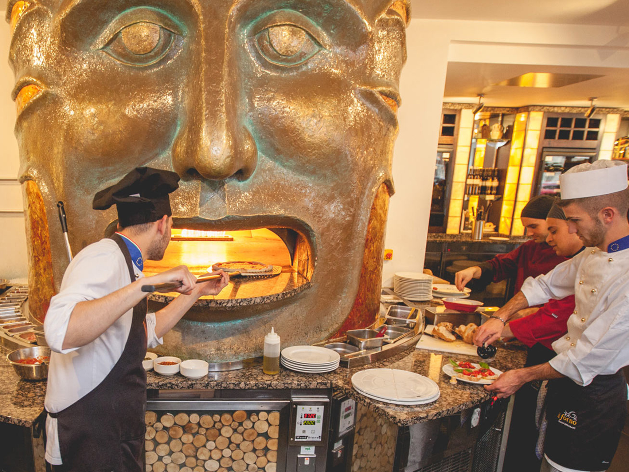Il Forno restaurant in Liverpool