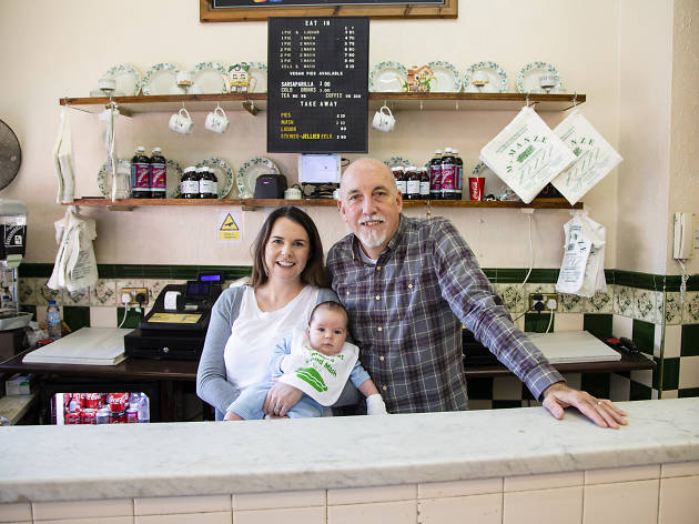 Rick Poole and Emma Harrington Owners of M Manze pie-and-mash shops
