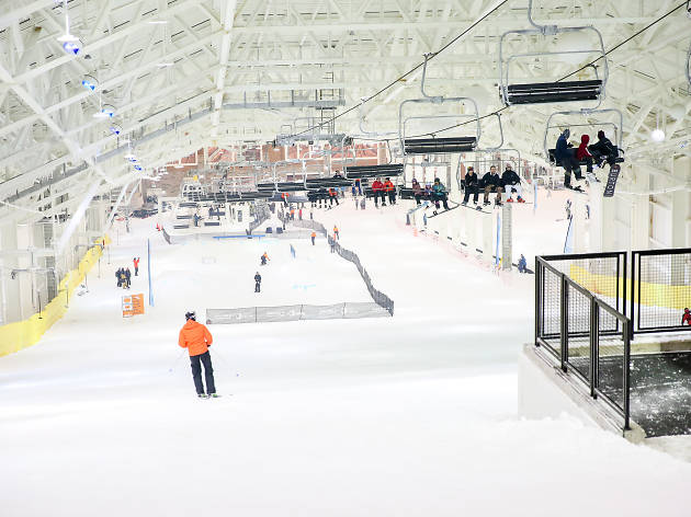 Visit Big SNOW indoor snow park