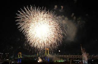 Odaiba Rainbow Fireworks