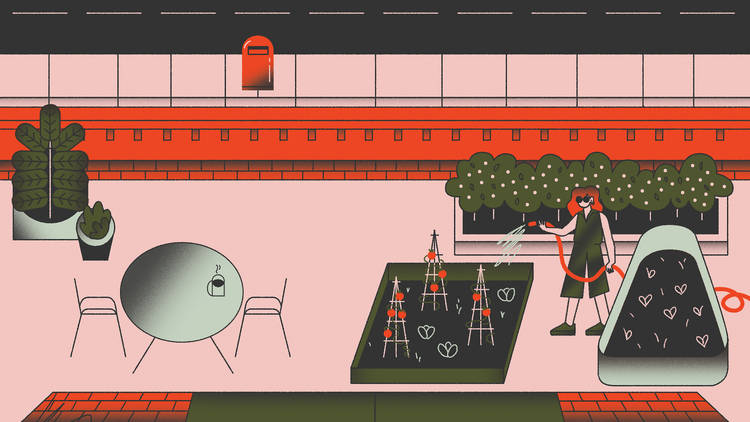 Balcony garden illustration lead image
