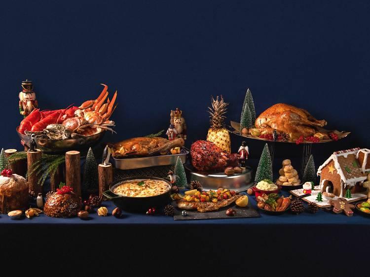 The Astor:十多個國家的聖誕美食