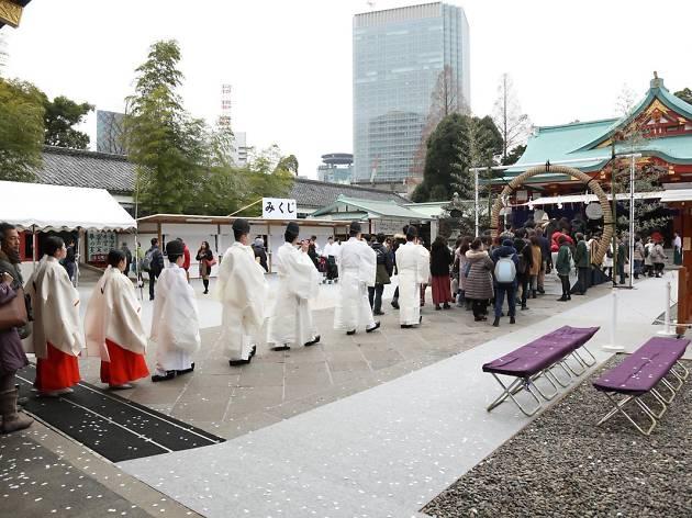 hie shrine new year