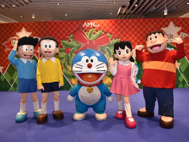 Doraemon and friends