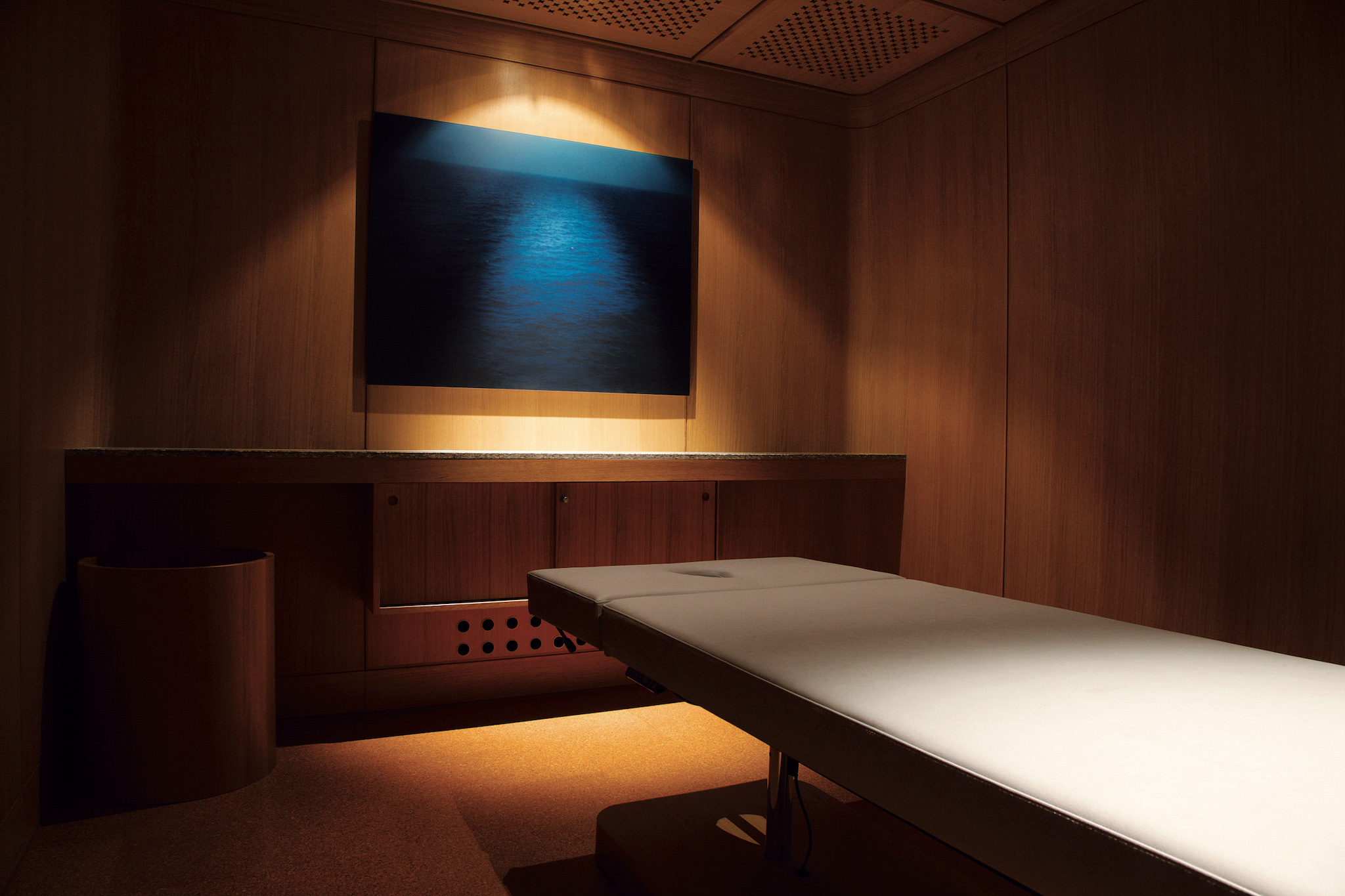 The Omnia, massage table