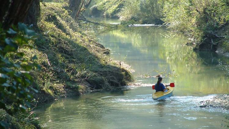 Istria's Mirna (meaning 'peaceful') river