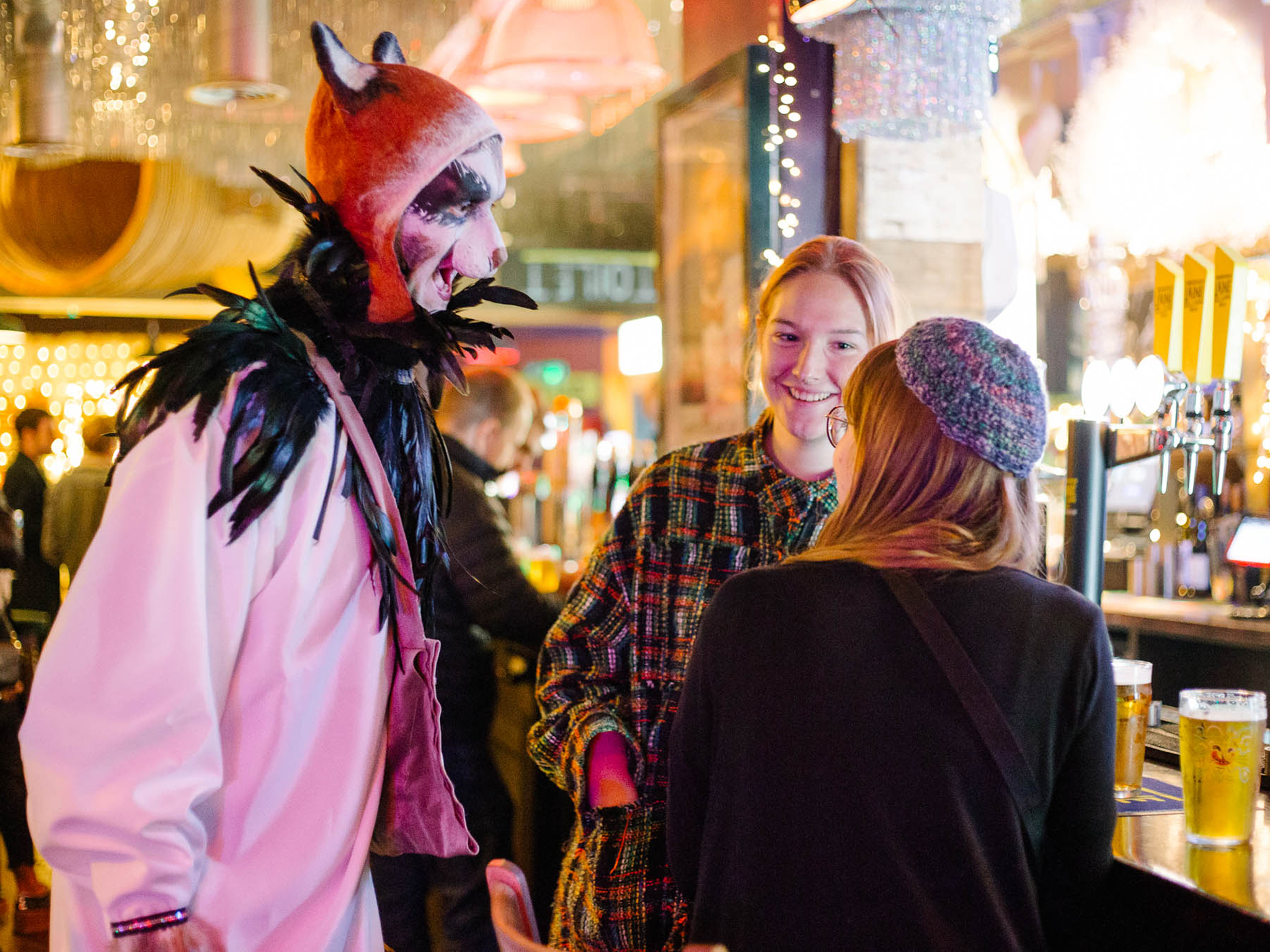 This winter pop-up in a London pub might just give you nightmares