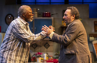 John Kani and Antony Sher in 'Kunene and the King'