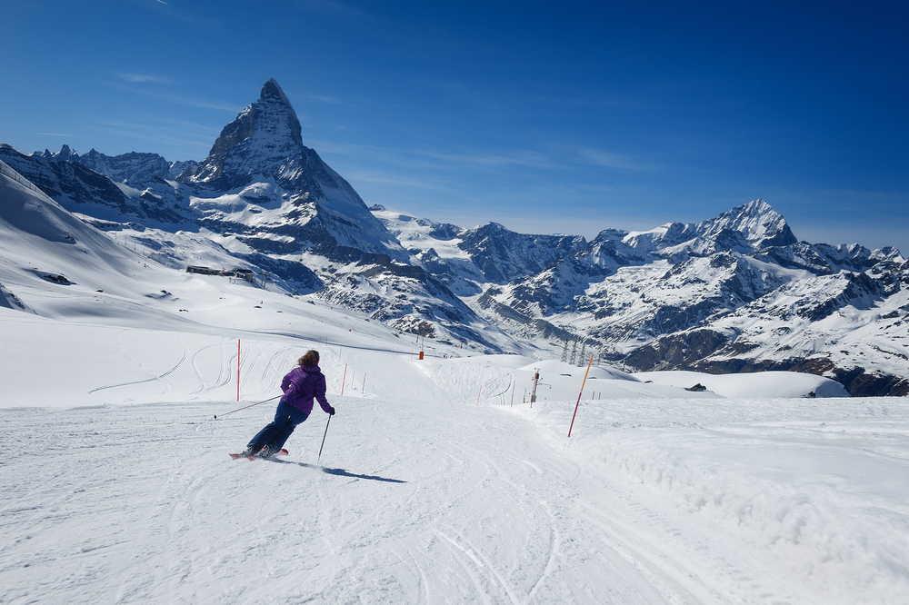 Slopes of Zermatt for The Omnia hotel commercial feature