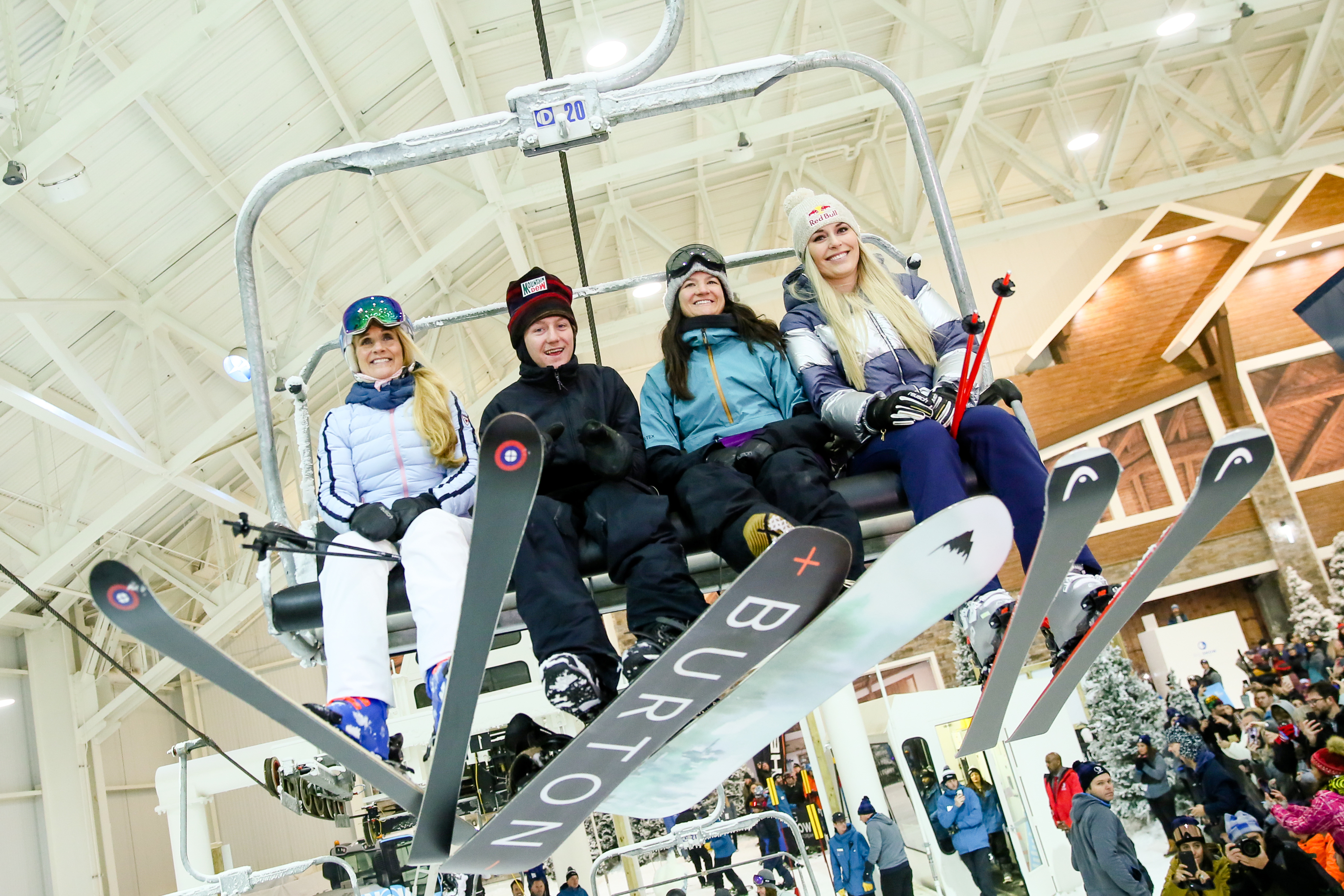 North America's first indoor ski slope has just opened