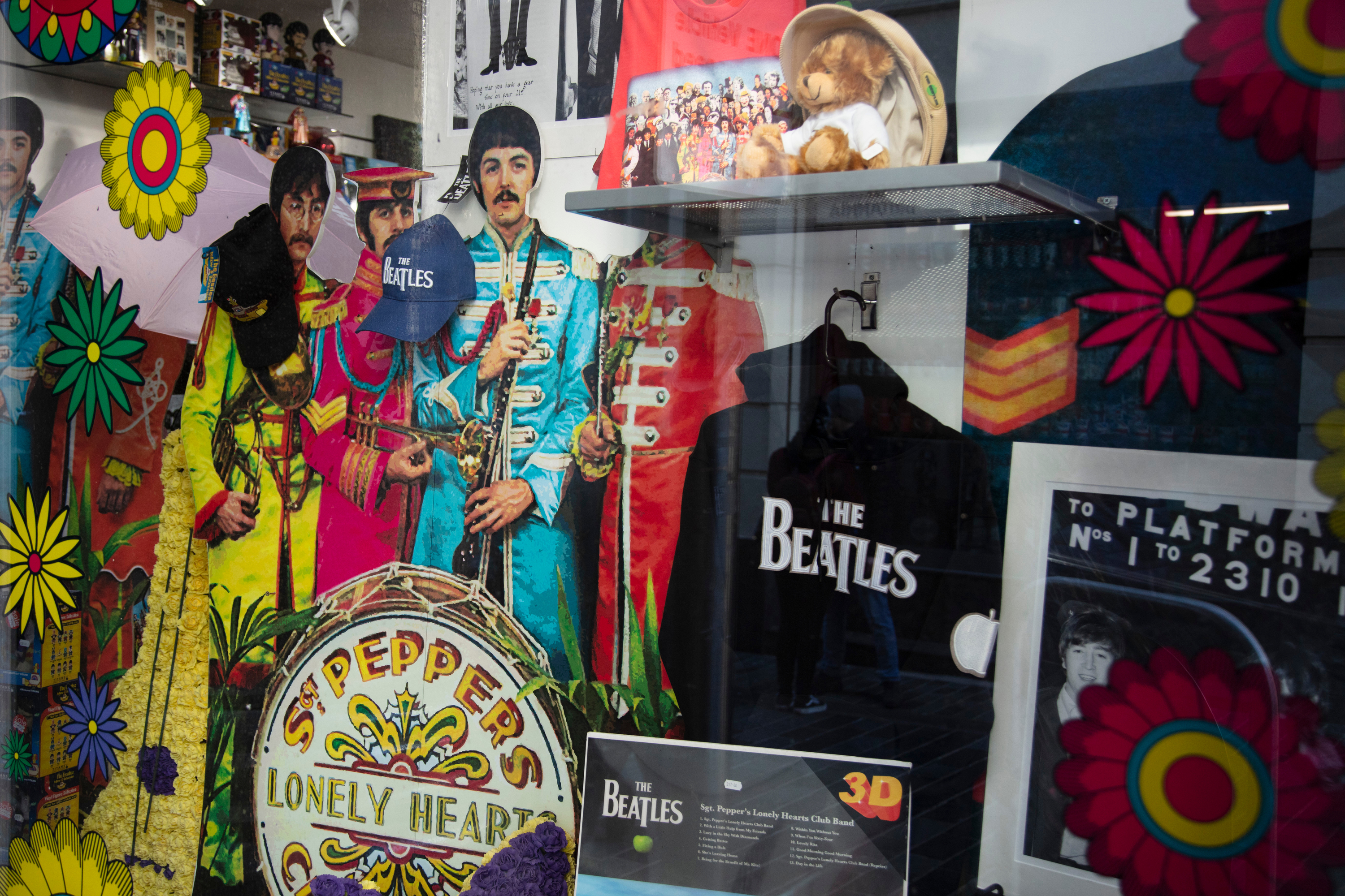 A Beatles pop-up is coming to NYC just in time for the holidays