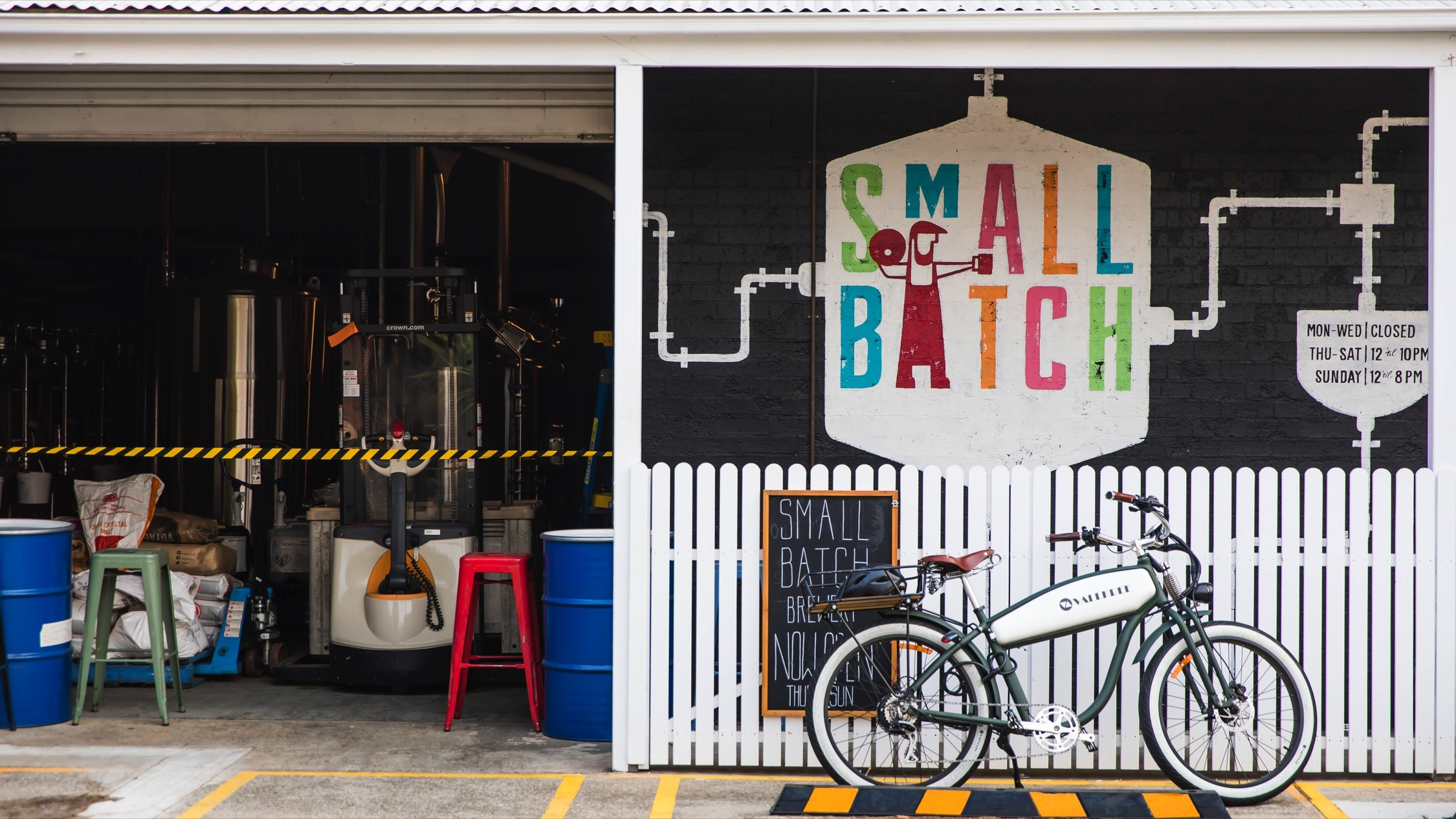 Small Batch brewing at Public House Petersham