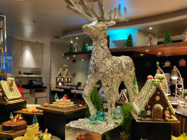 Christmas Buffet 2019 Hilton KL
