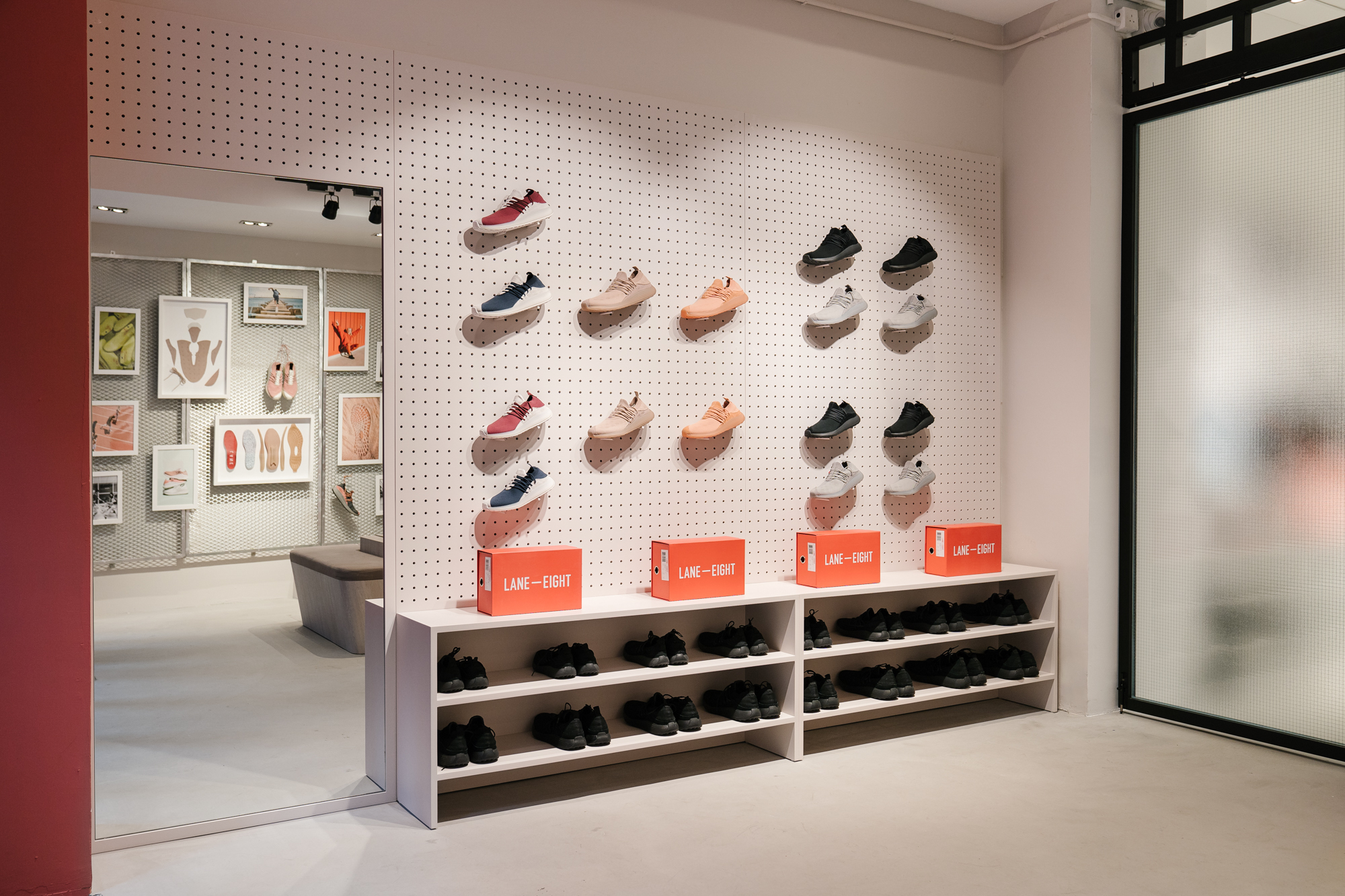 Local footwear brand Lane Eight opens in Wan Chai