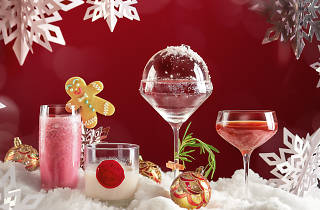 InterContinental christmas cocktails