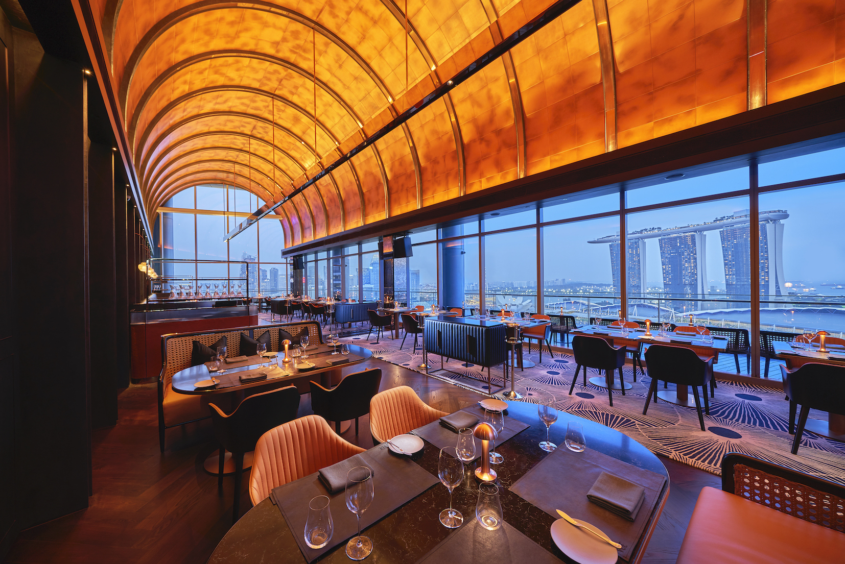 The restaurants with the best views of Singapore