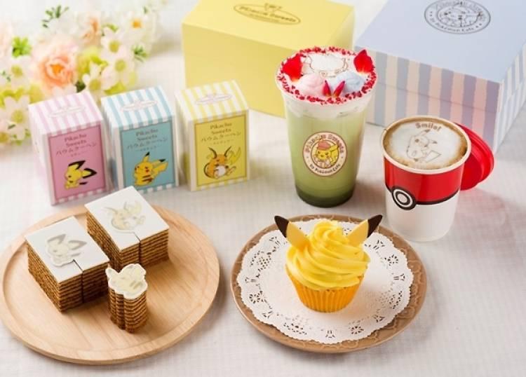 Pikachu Sweets by Pokémon Café