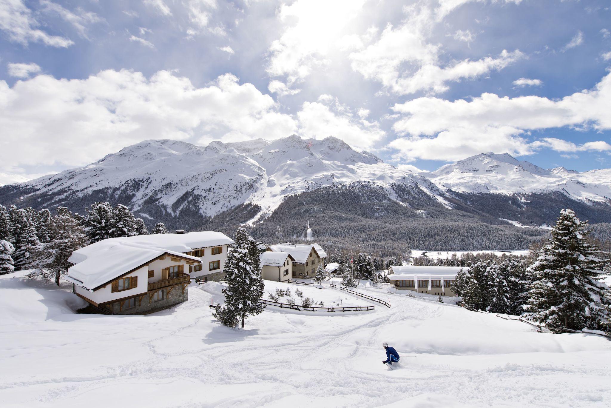 Randolins Familienresort, St Moritz, Engadin