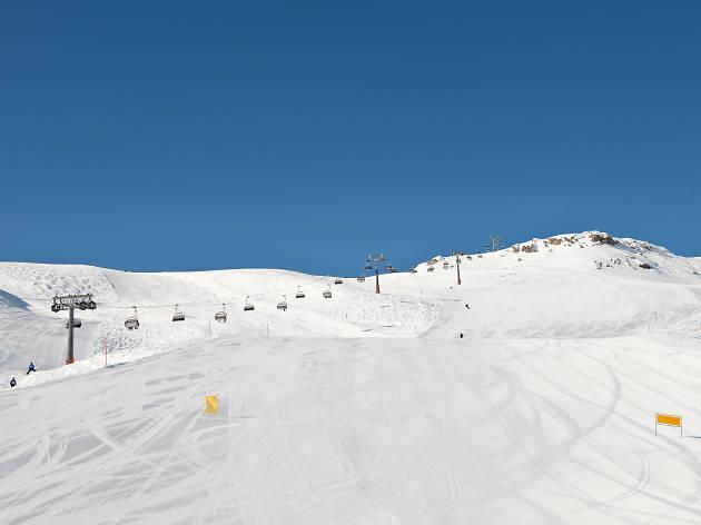 Audi Ski Run, St Moritz, Engadin
