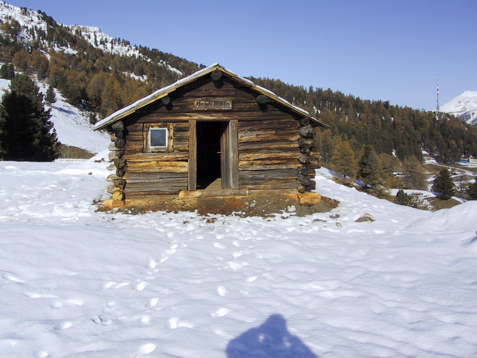 Heidi's Hut, St. Moritz, Engadin