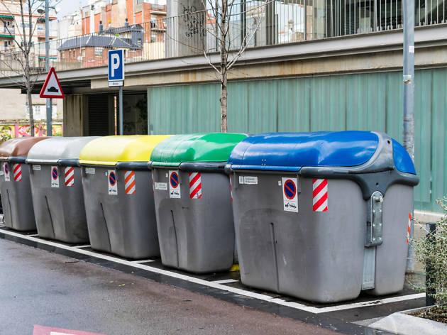 Contenidors de Barcelona