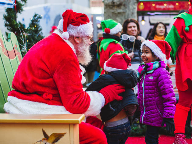 Miracle on 42nd Street: Santa is coming to Bryant Park