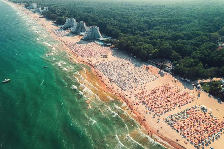 Black Sea coast, Bulgaria