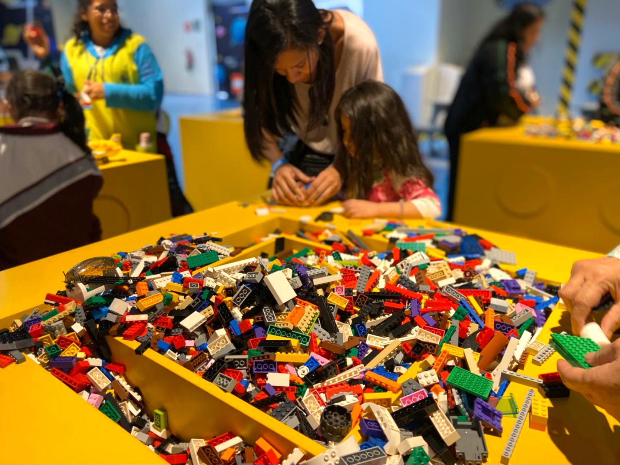 Lego Playtime en el Papalote Museo del Niño