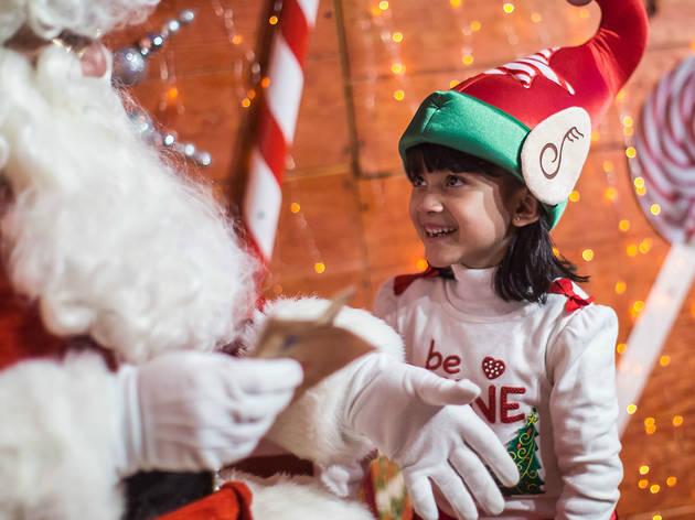 La villa de Santa Claus (Foto: Cortesía de la producción)