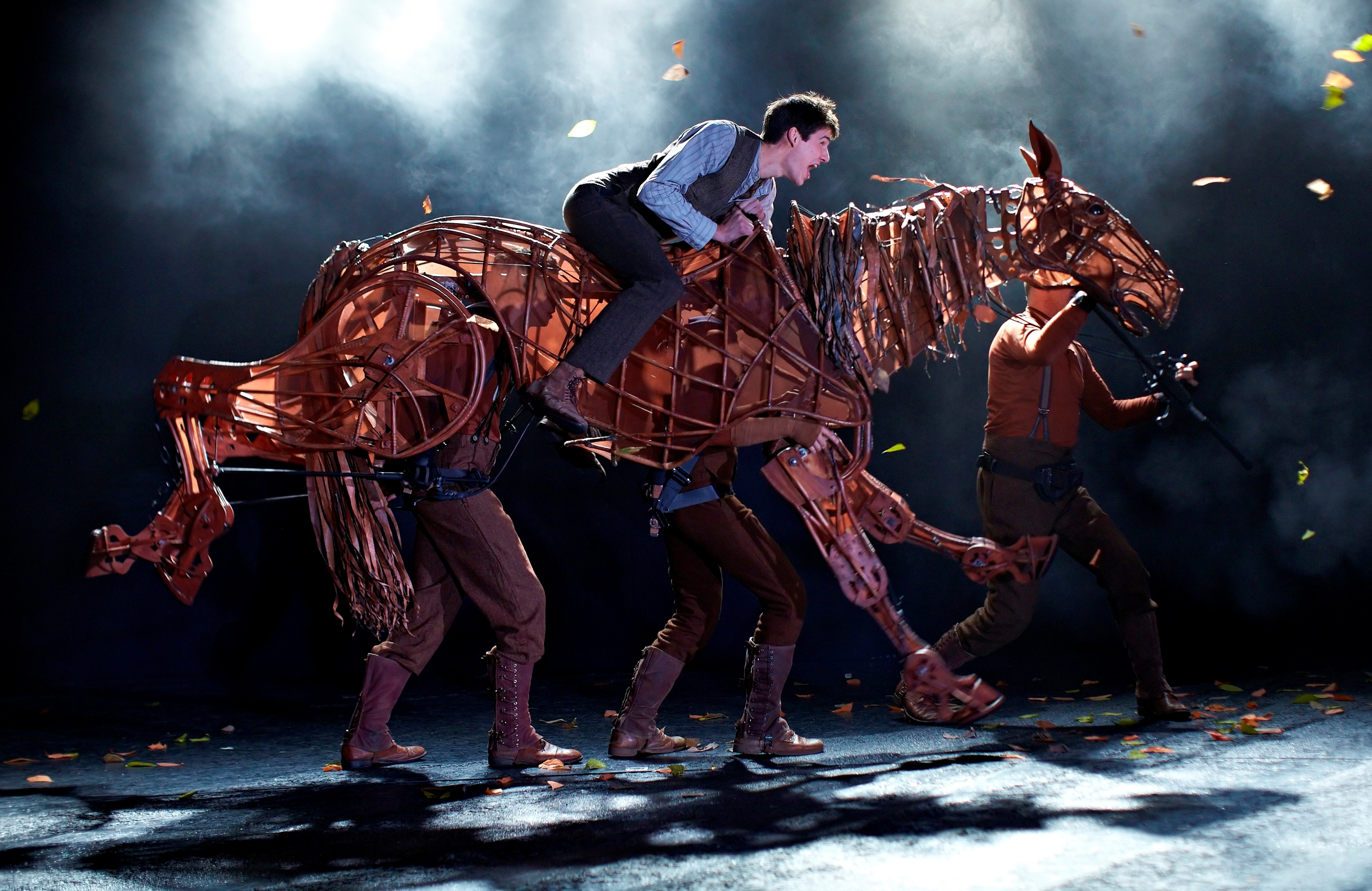 The magic behind War Horse's spectacular puppetry