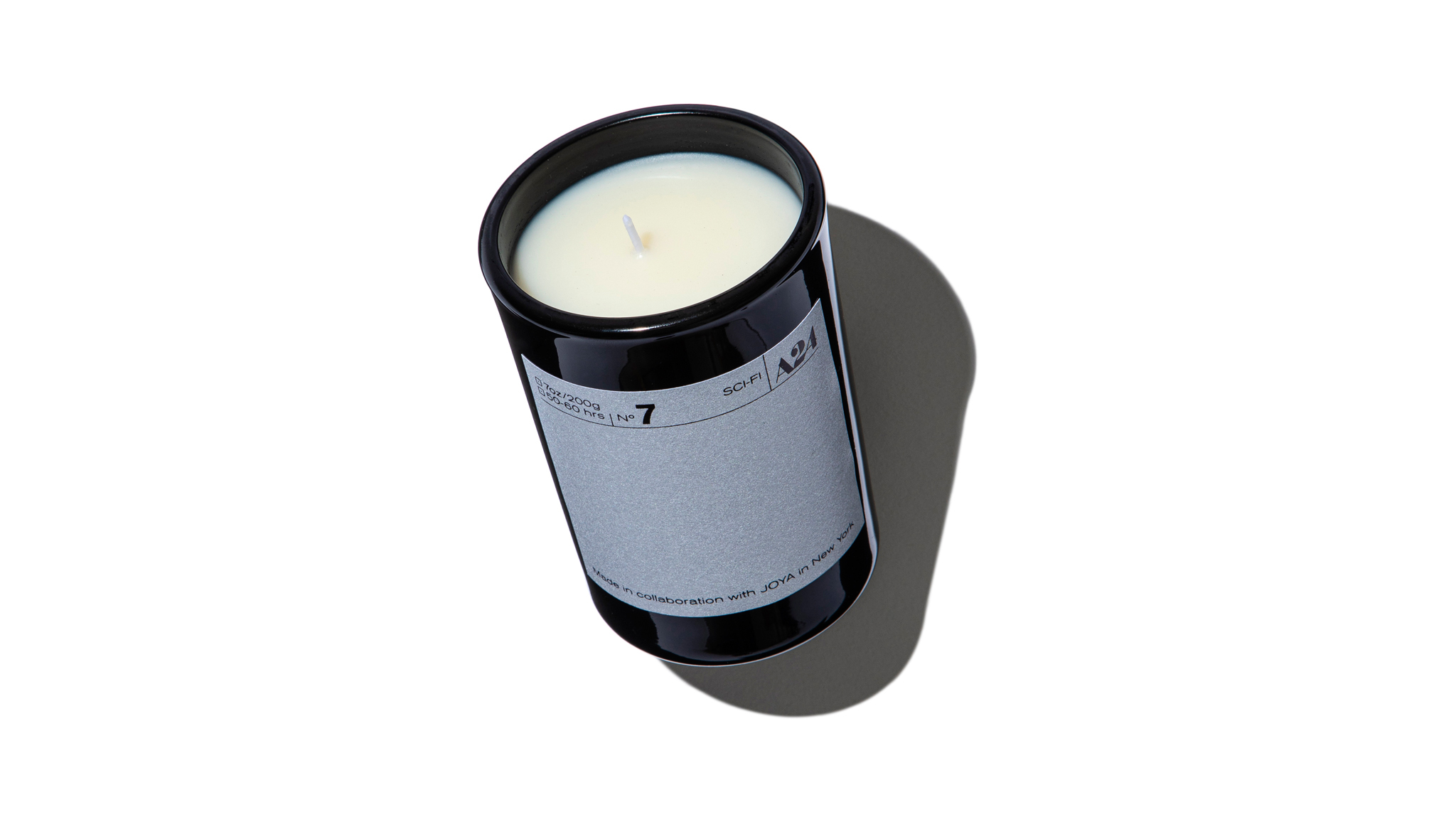 One of the A24 scented candles