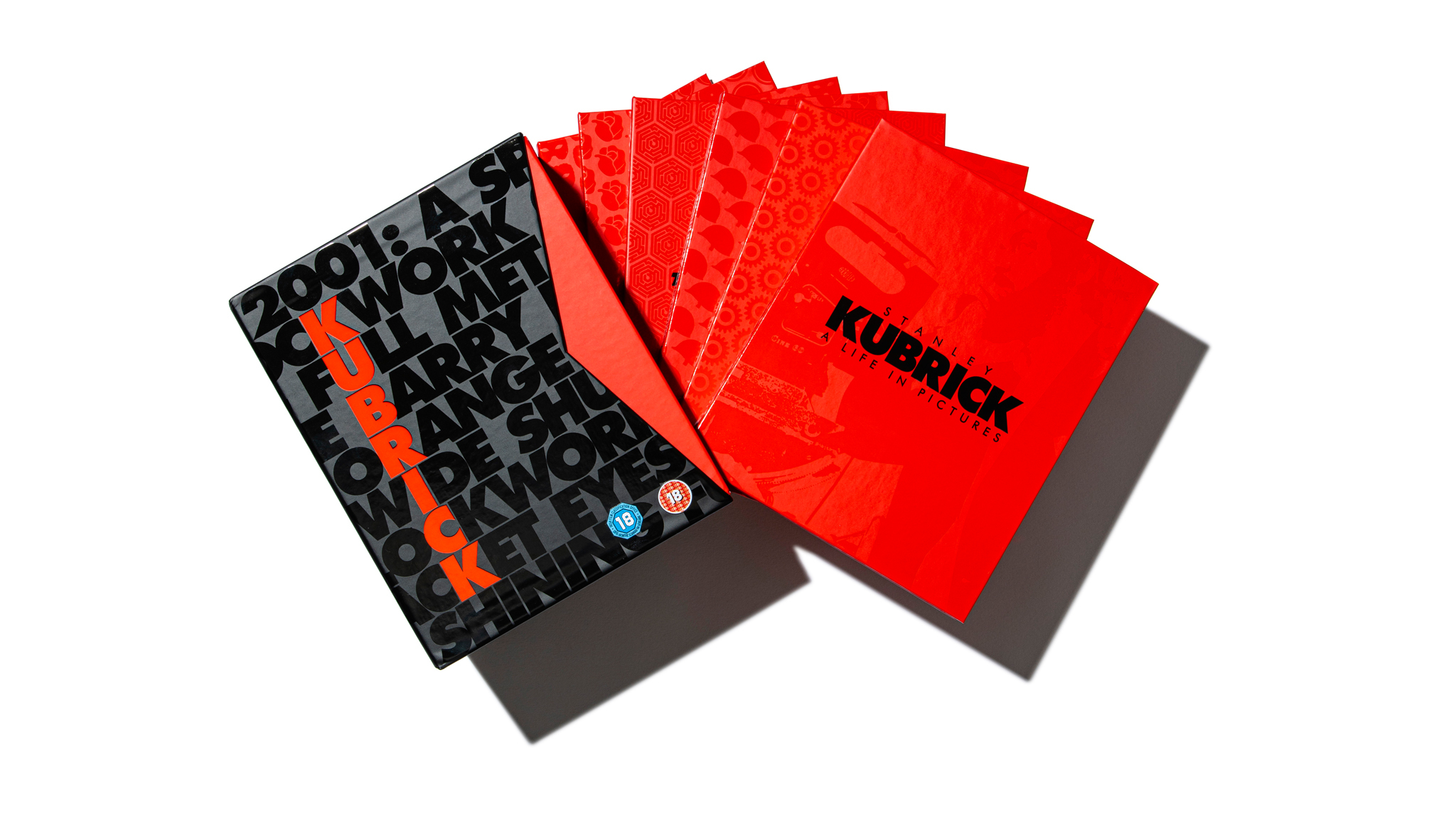 The Stanley Kubrick Limited Edition Film Collection DVD boxset