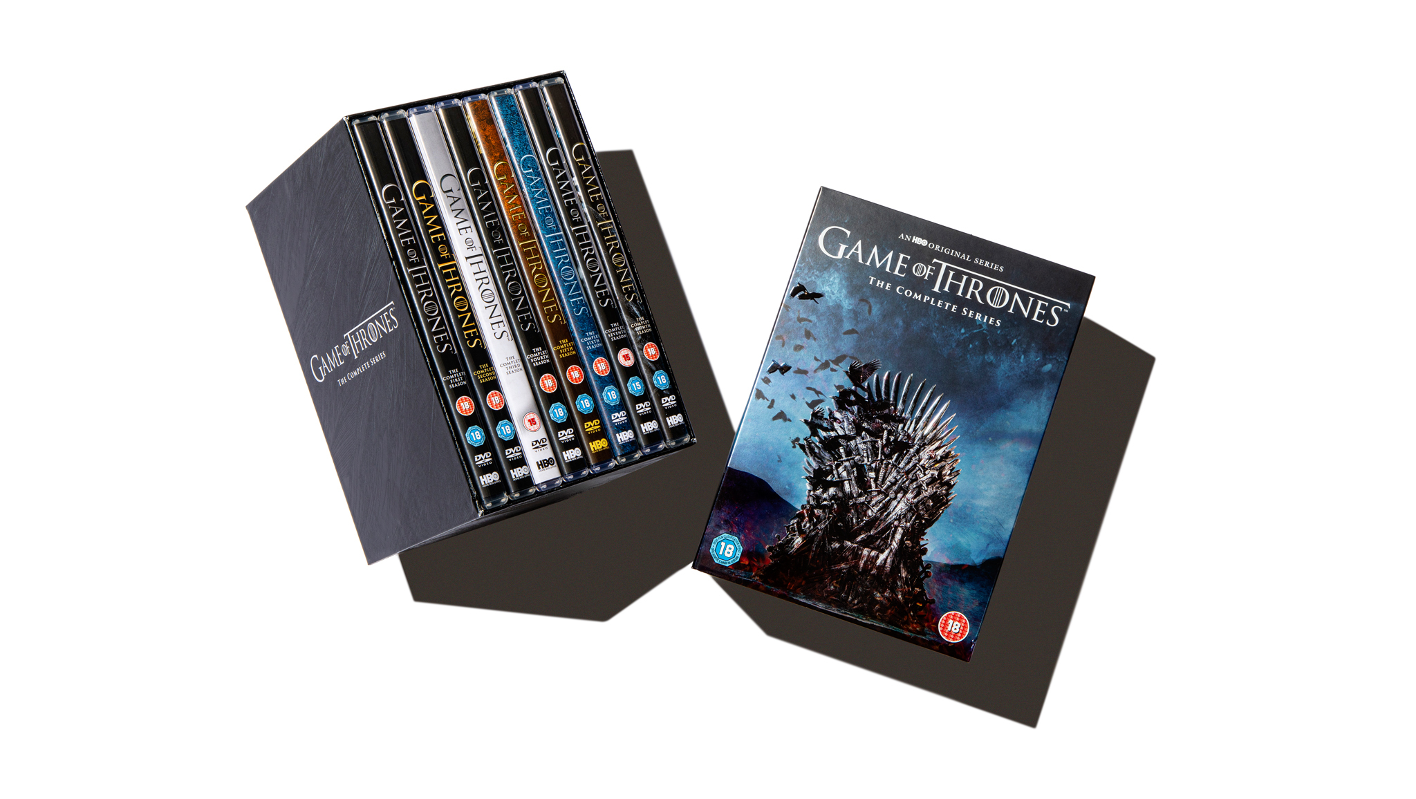 The full DVD boxset of Game of Thrones