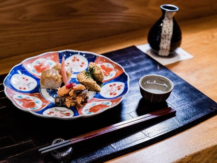 和食で夢心地になる。