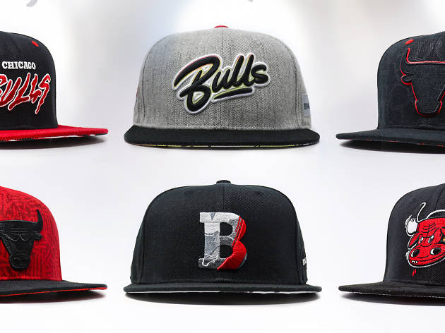Go to a Bulls game and you might score a free hat designed by Left Handed Wave or Sentrock