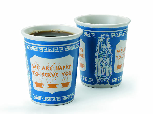 NYC ceramic coffee cup