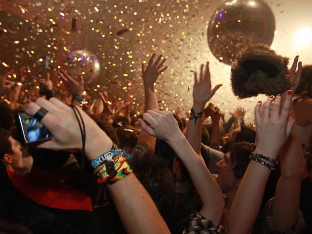 Fiesta de año nuevo en cdmx