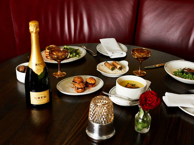 Food and beverages at Bar Margaux