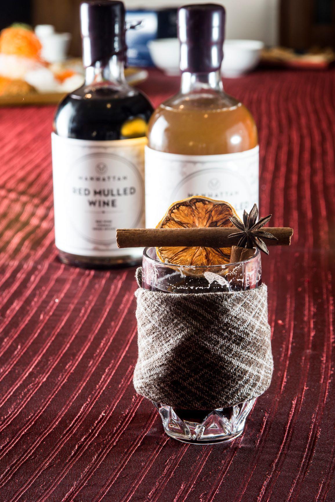 Mulled wine Manhattan