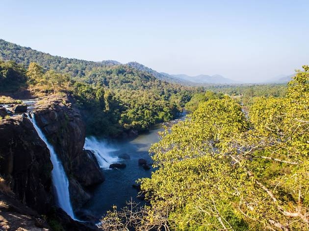 Athirappilly Waterfalls India