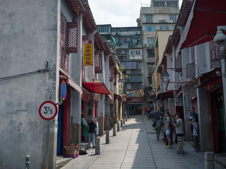 福隆新街:青樓建築