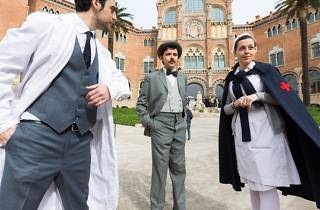 Visita teatrealitzada al Recinte Modernista Sant Pau