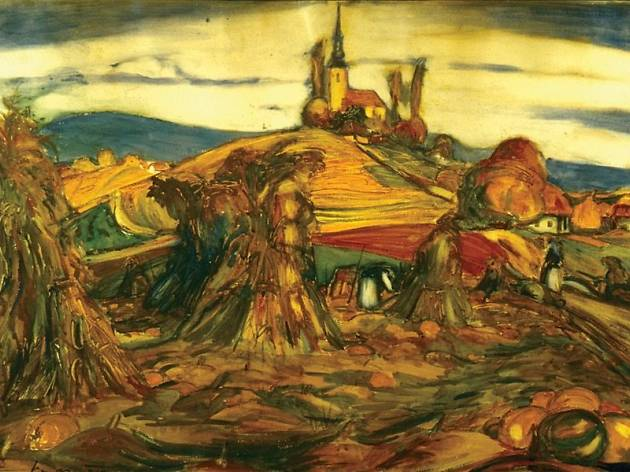 Maksimilijan Vanka, Vinski vrh, 1915. Zagreb, Moderna galerija