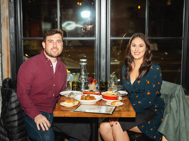 We sent two Chicagoans on a blind date in West Town—here's how it went