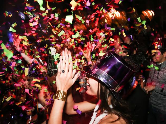 Hot Rabbit's Resolutions LGBTQ New Year's Eve