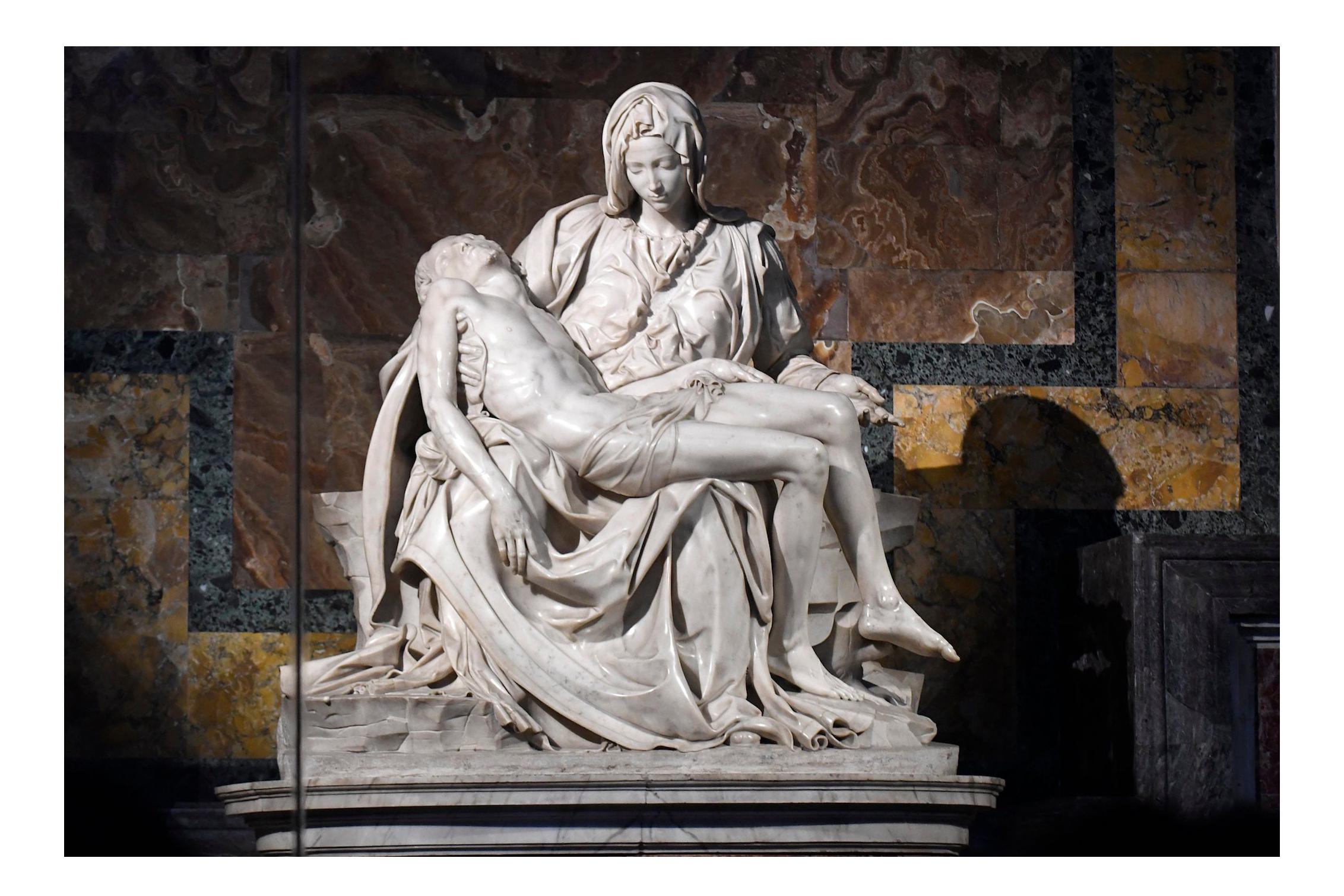 Michelangelo, Pietà, 1498–1499