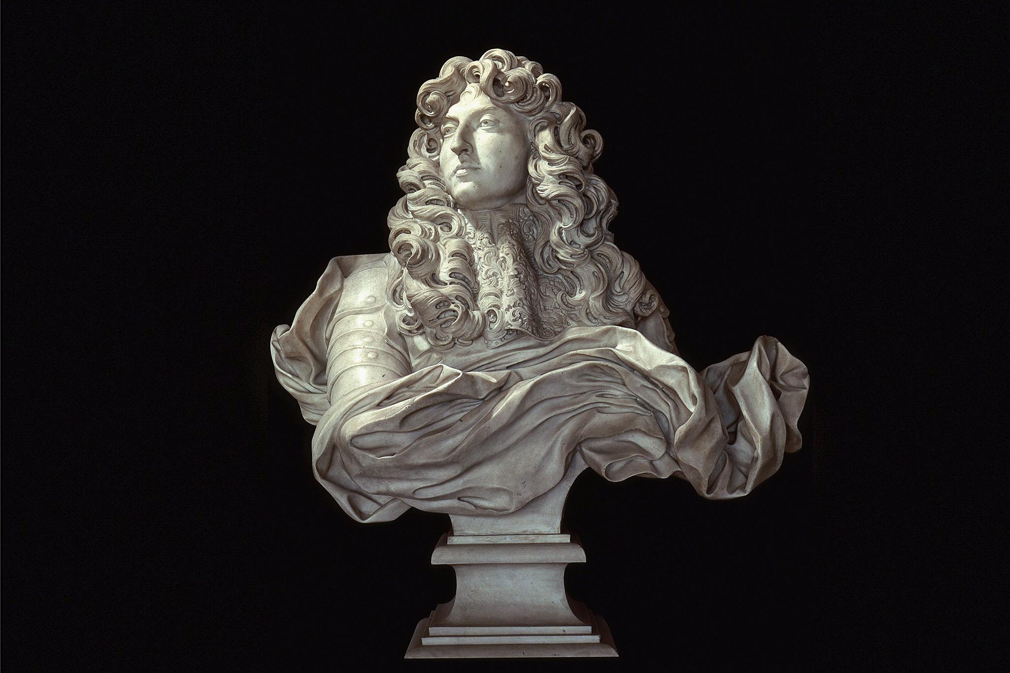 Gian Lorenzo Bernini, Bust of Louis XIV, 1665